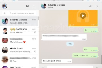 WhatsApp Web no iPad