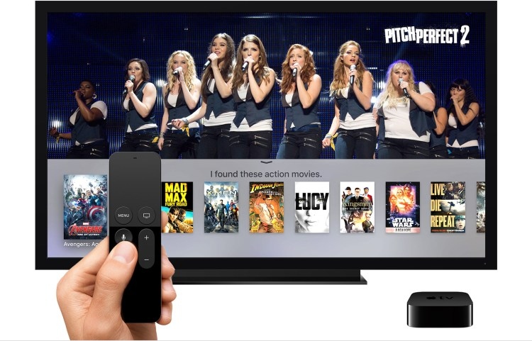 Busca na Apple TV