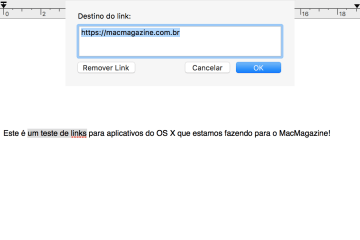 Criando diferentes links no OS X