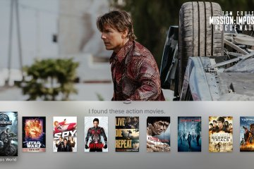Busca (via Siri) na nova Apple TV