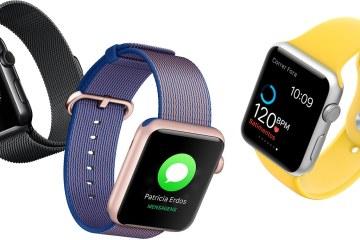 Novas cores/pulseiras para Apple Watches