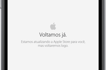 Apple Store fora do ar no iPhone