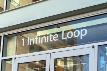 Entrada da Apple em 1 Infinite Loop