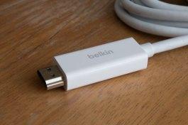 Cabo de Mini DisplayPort para HDMI 4K, da Belkin