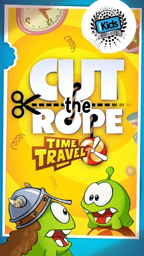 Screenshot de Cut the Rope: Time Travel