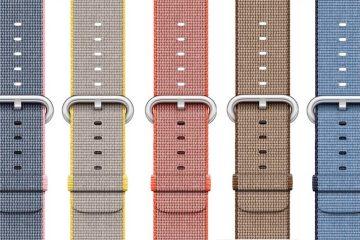 Apple Watch esportiva cores-novas08-Apple Watch nylon cores novas