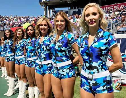 Foto de jogo da NFL tirada com iPhone 7 Plus
