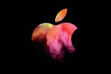 Convite do evento especial de Macs