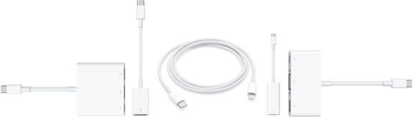 Adaptadores USB-C da Apple