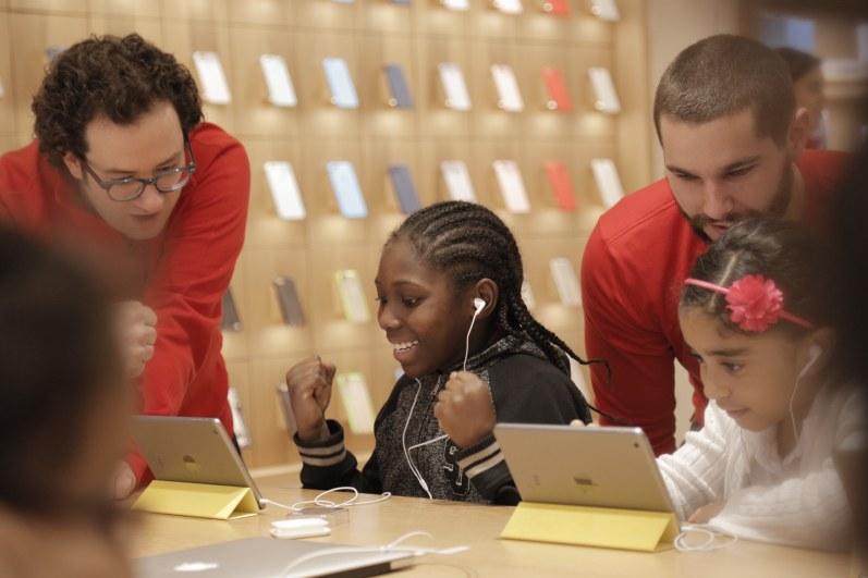 Apple e a Hora do Código