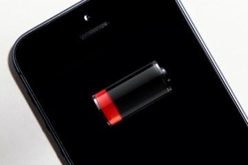 iPhone com bateria fraca/acabando