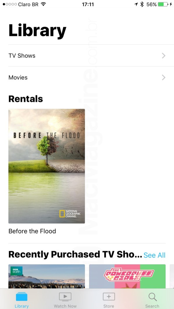 iOS 10.2 beta 2 (app TV)