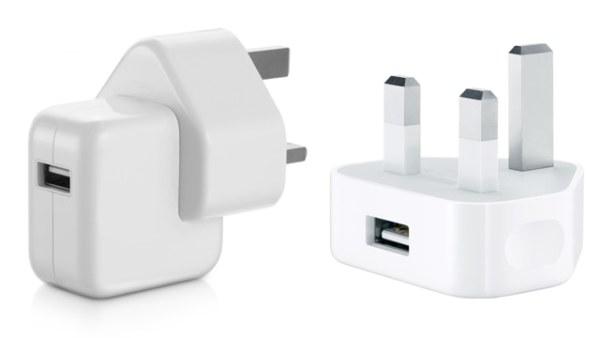 Apple carregadores falsificados