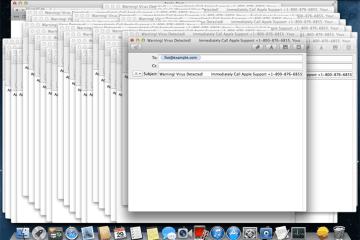 Malware criando janelas de email no macOS