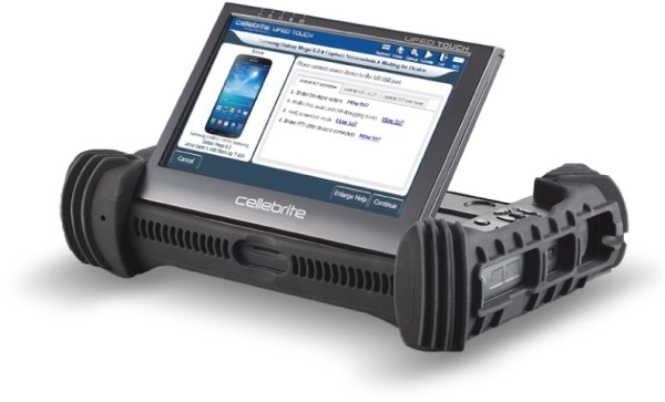 Universal Forensic Extraction Device, da Cellebrite