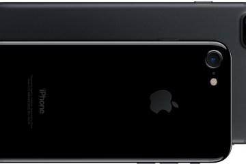 iPhone 7 jet black e iPhone 7 Plus preto matte