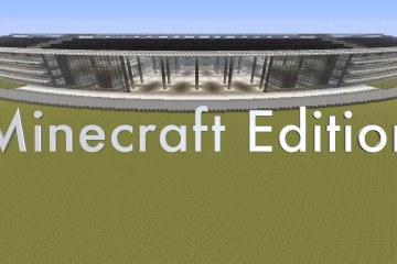 Apple Campus 2 no Minecraft
