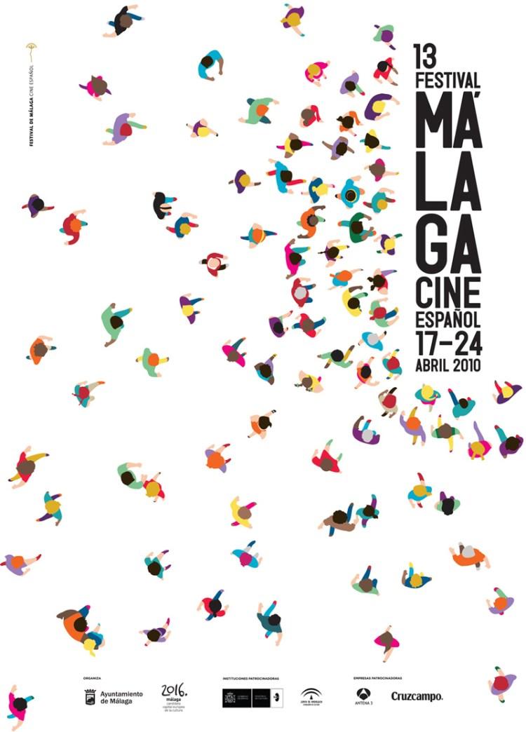 Pôster do Festival de Cinema de Málaga (2010)