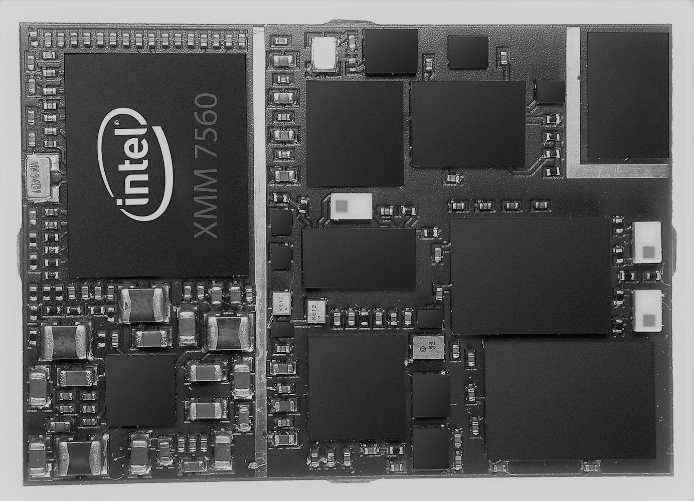 Modem XMM 7560, da Intel