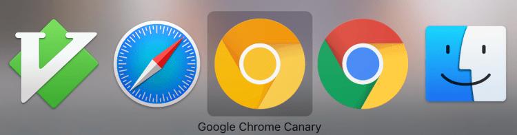 Google Chrome Canary