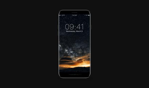 Conceito de iPhone 8/X/Edition