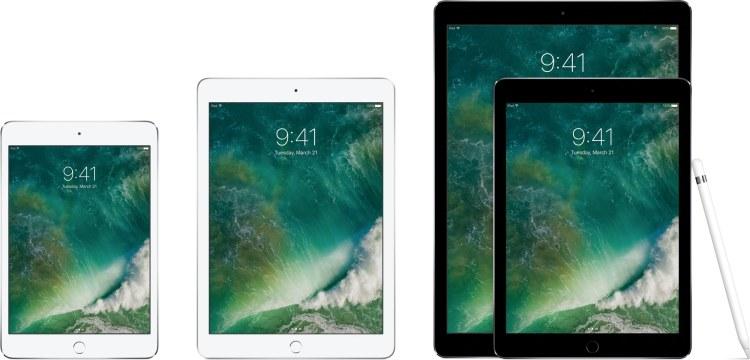 Família de iPads