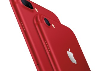 iPhones 7 e 7 Plus (PRODUCT)RED