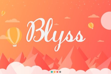 Imagem promocional do jogo Blyss para iOS