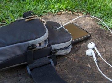 Braçadeira esportiva para iPhones, da ROCK