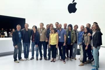 Time de design da Apple
