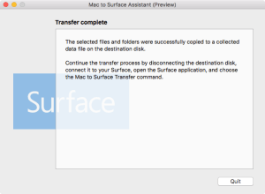 Mac to Surface Assistant