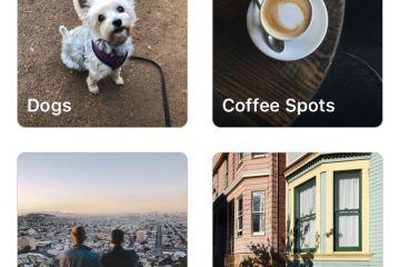 Salvando posts em coleções no Instagram