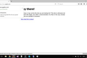 Prova de conceito no Firefox (phishing)