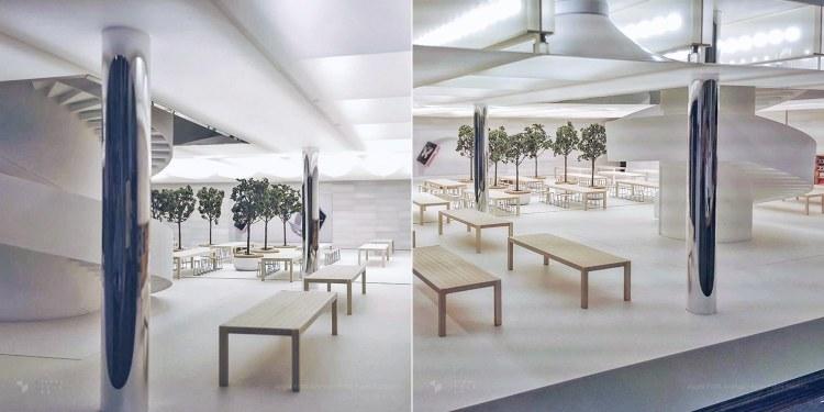 Possível maquete de como deverá ficar a Apple Fifth Avenue