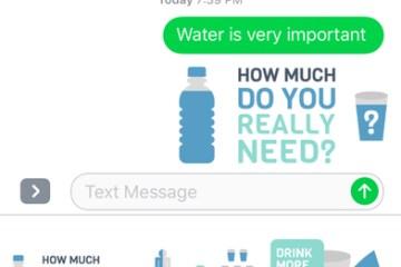 Lembrete de Água