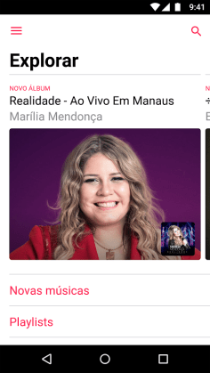 Apple Music 2.0 para Android