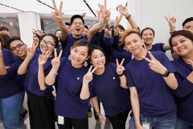 Inauguração da Apple Taipei 101