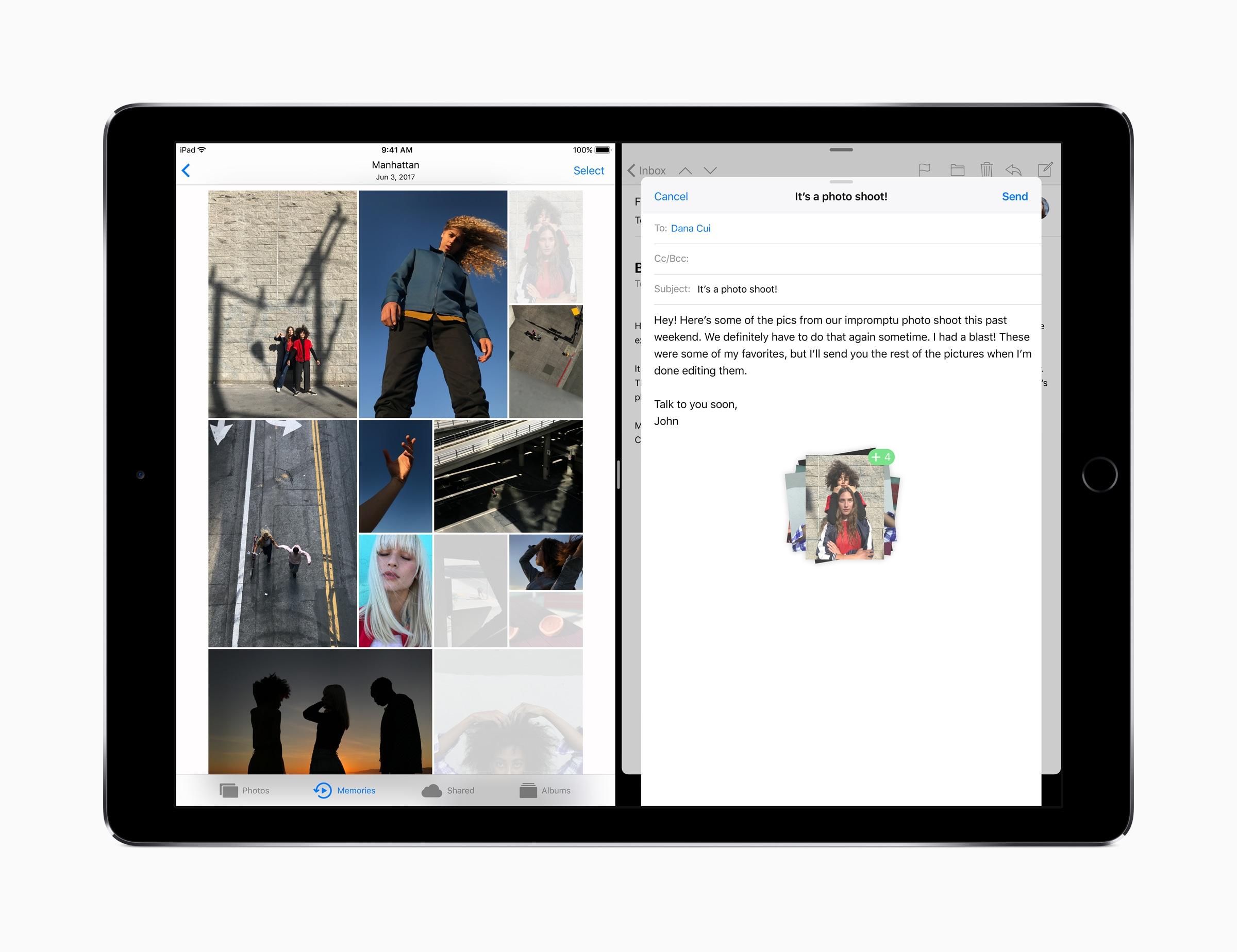 Arrastar e soltar (drag & drop) no iPad Pro com iOS 11