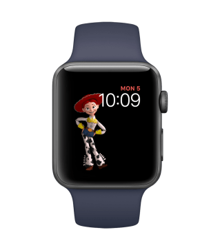 Mostrador de Toy Story no watchOS 4