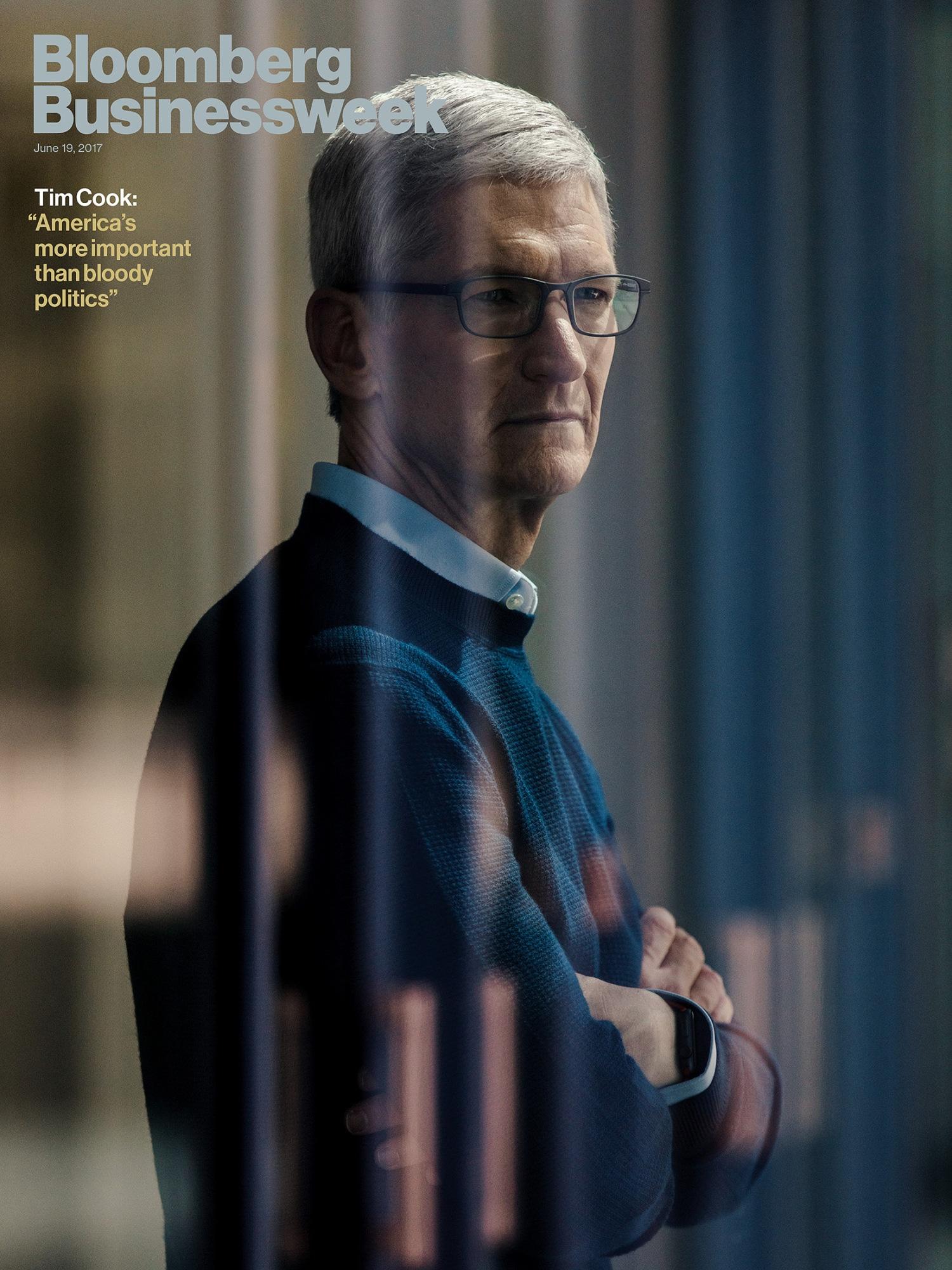 Tim Cook na Bloomberg Businessweek