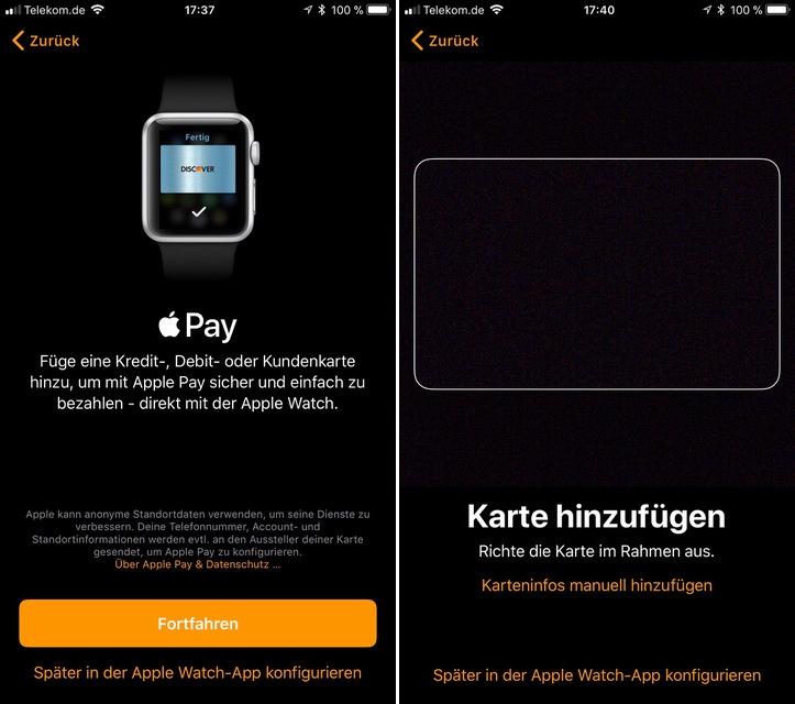 Apple Pay alemão no beta do iOS 11