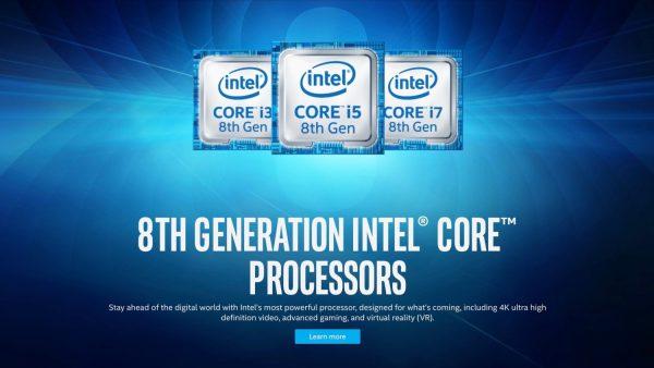 Oitava geração da linha de processadores Intel Core