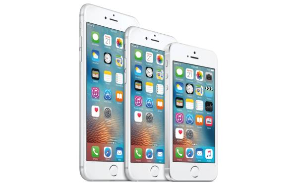 iPhones SE, 6s e 6s Plus