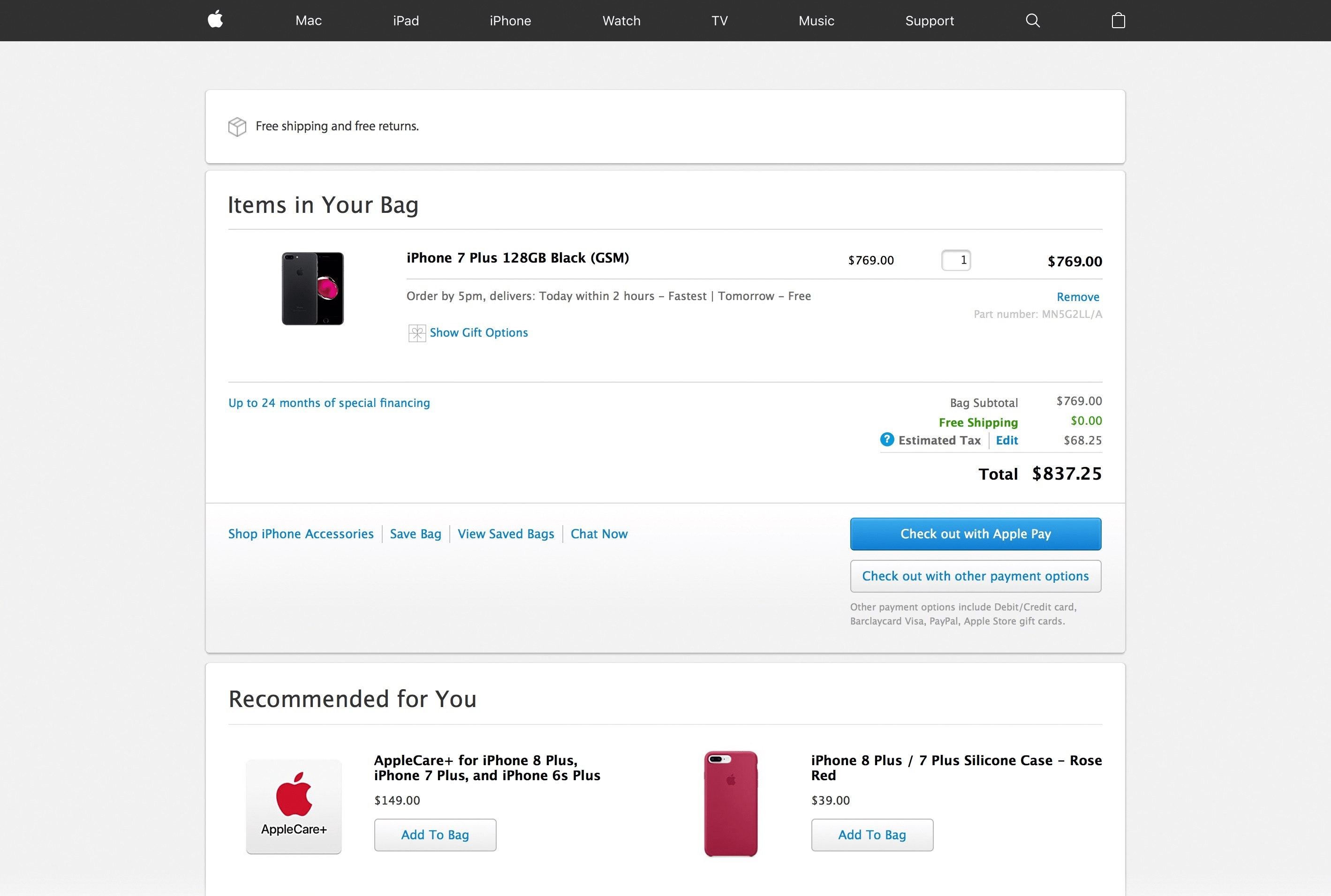 Tutorial de como comprar um produto Apple na pré-venda