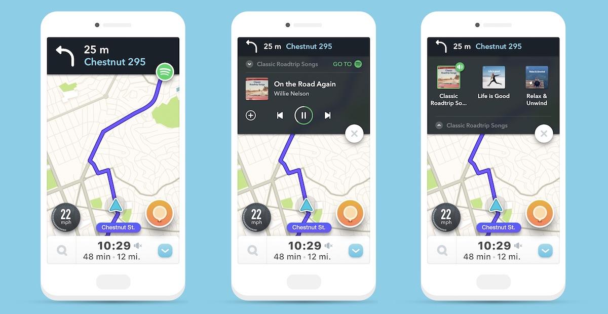 Waze integra o Spotify em seu aplicativo iOS