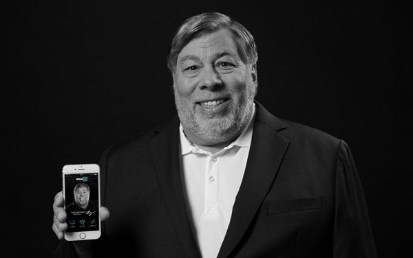 Steve Wozniak apresentando sua plataforma de educação digital Woz U