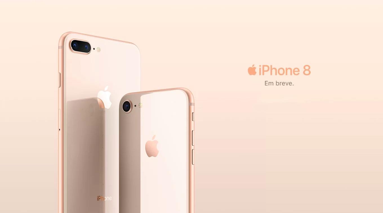 iPhone 8 chegando ao Brasil