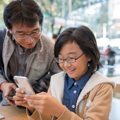 Lançamento do iPhone X - Apple 表参道, em Tóquio