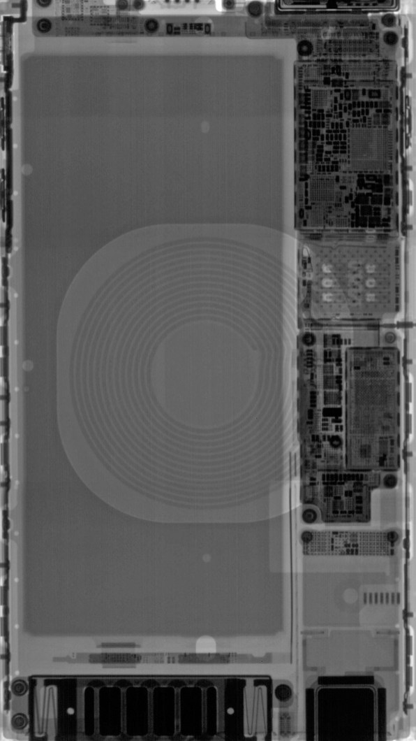 Wallpaper de componentes do iPhone 8 Plus
