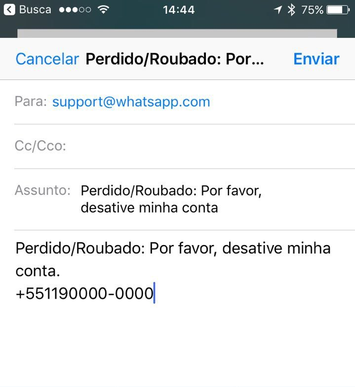 Como bloquear a conta do WhatsApp